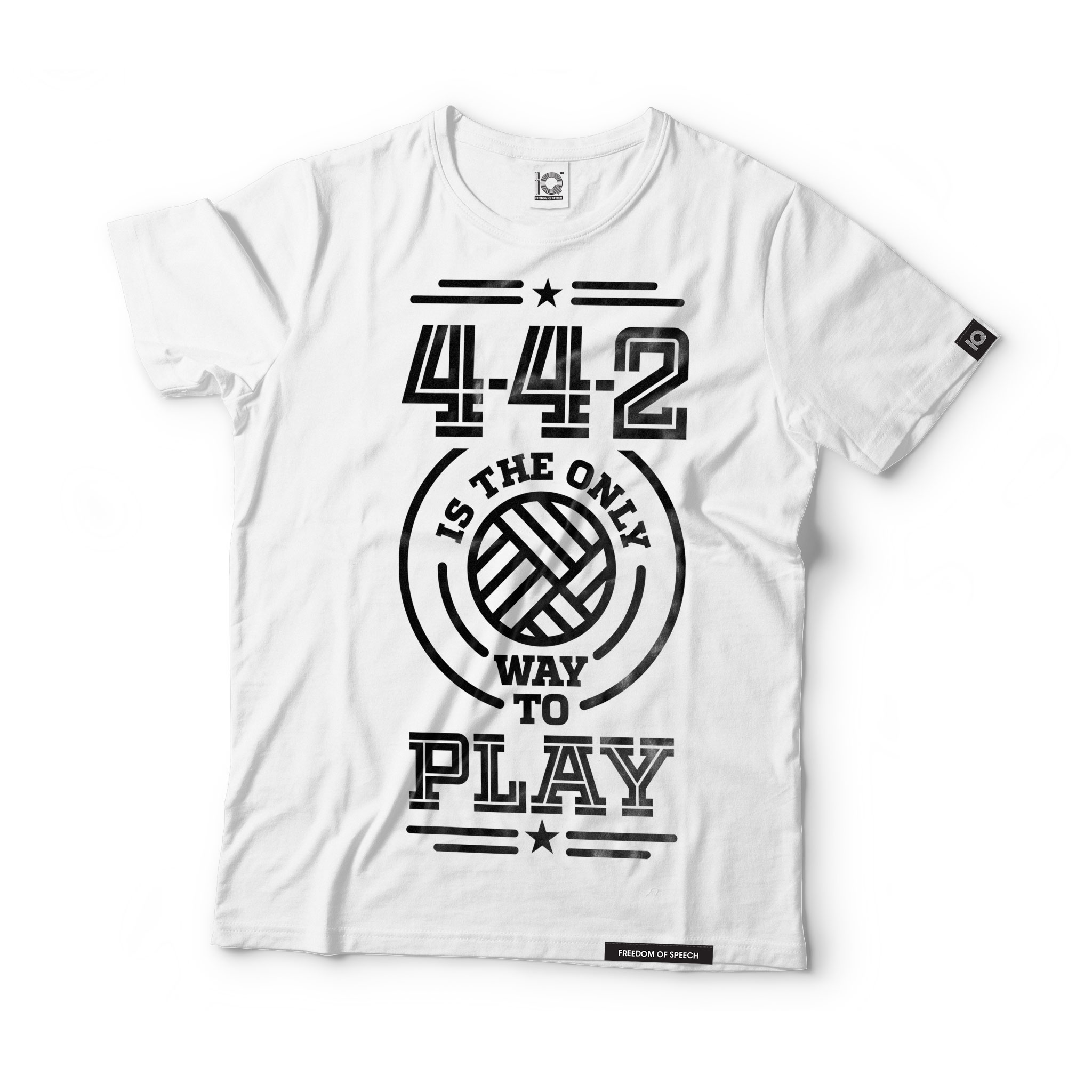 4-4-2-is-the-only-way-to-play-white-tshirt